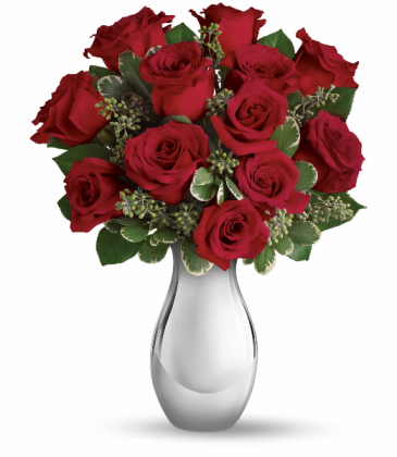 True Romance Bouquet Fresh Arrangement