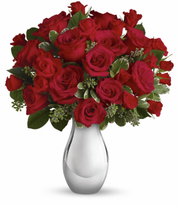 True Romance Bouquet Vase Arrangement