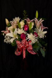 True Romance Lilies and Roses