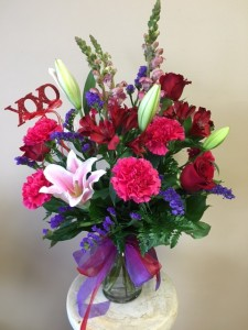 TRUE ROMANCE LOCAL DELIVERY ONLY in Jacksonville, FL   DINSMORE FLORIST INC.
