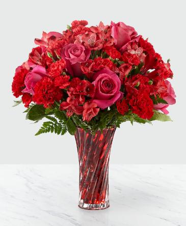 Truest Love Bouquet FTD Vase Arrangement