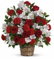 Truly Beloved Bouquet sympathy flowers