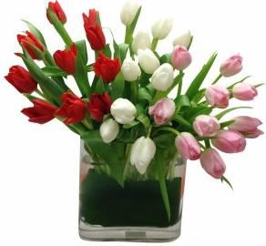 Treasured Tulips Arrangement