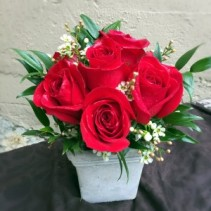 """Truly, Madly, Deeply"" Fresh Cut Red Roses"