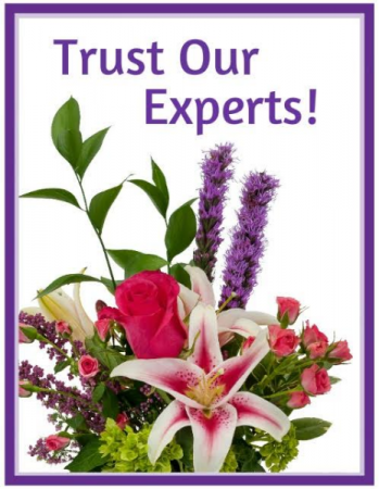 Trust Our Experts - Designer's Choice Arrangement