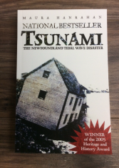 Tsunami the Newfoundland tidal wave disaster NL books