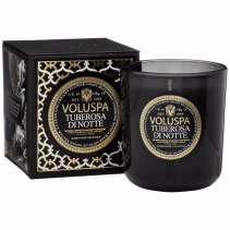 TUBEROSA di NOTTE Boxed Candle By Voluspa