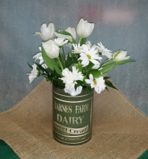 Tulip and Daisy Arrangement