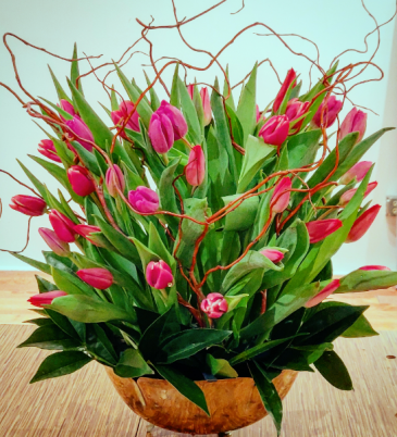 Tulip Bowl Valentine's Day