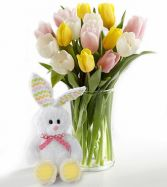 Tulip Bunny Surprise Plush Bunny May Vary