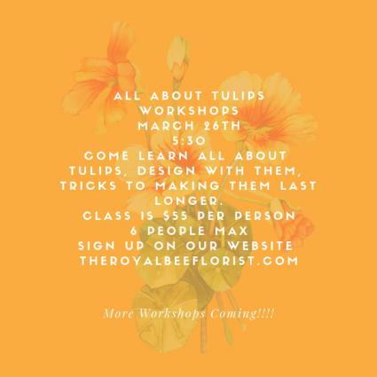 Tulip Class March 26th