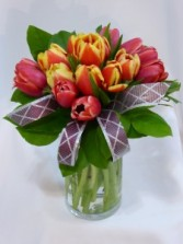 TULIP FASHION   Spring Tulips, Spring Flowers Arrangements, , Flower Bouquets Prince George BC