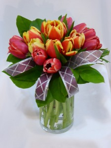TULIP FASHION   Spring Tulips, Spring Flowers Arrangements