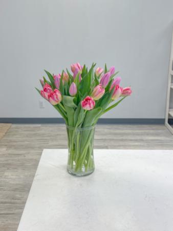 Tulip Fever Vase Arrangement