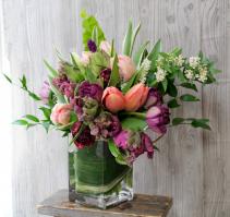 Tulip Heaven Vase Arrangement