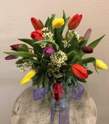 Tulip Special Vase Arrangement