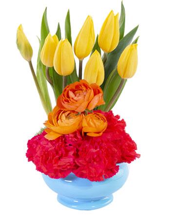 Tulip Surprise Floral Design