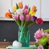 Tulip Suprise Mason Jar