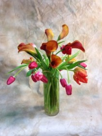 Tulips and Callas