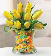 Tulips Beans arrangemet