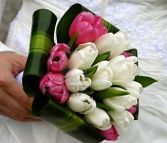 Tulips Divine Wedding Bouquet