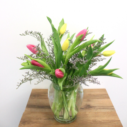TULIPS FOR YOU (COLORS MAY VARY) LOCAL DELIVERY ONLY