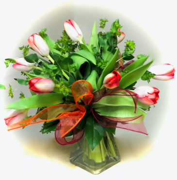Tulips for You! Vase arrangement