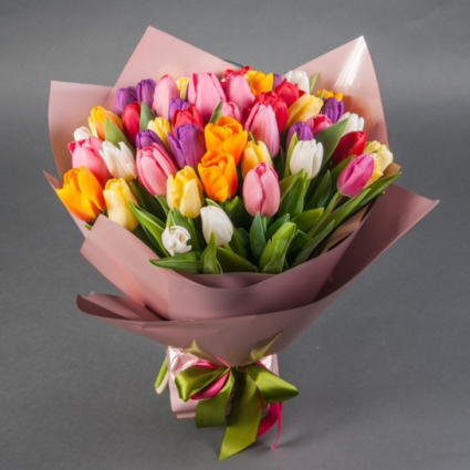 tulips Hand-tied Bouquet