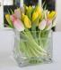 Tulips in vase Flower Arrangement