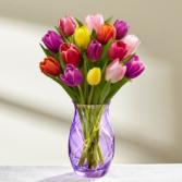 Tulips Surprise Vase Arrangement