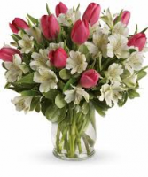 Tulips to Kiss Vase