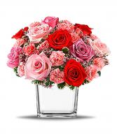 Turn Up The Pink Arrangement in San Bernardino, California | INLAND BOUQUET FLORIST