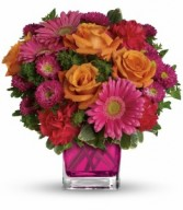 Turn Up the Pink Bouquet HEV33