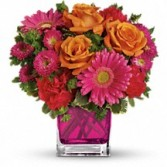 Turn up the Pink Floral Bouquet