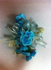 Turquoise Light Corsage