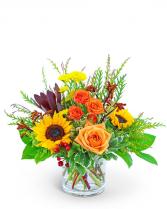Tuscan Sun Flower Arrangement