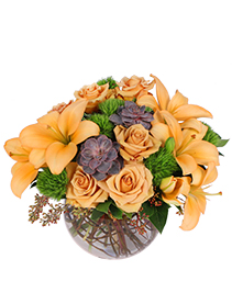 Tuscan Sun Flower Arrangement