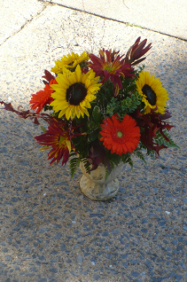 Tuscan Sunflowers All The Favorites Of Fall Shown at $60.00