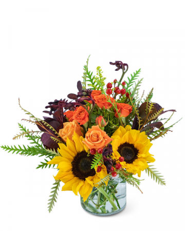 Tuscan Sunrise Flower Arrangement