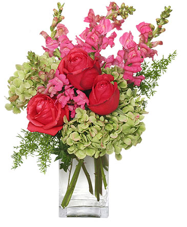 Tutti Fruitti Flower Vase In Mccrory Ar Crafty Corner Flowers Gifts