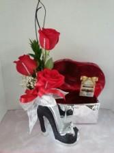 Tuxedo Glitter Shoe Valentines