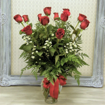 Twelve Kisses  Vased Arrangement