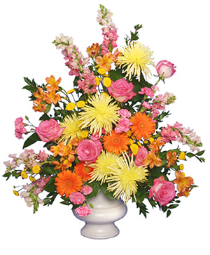 Funeral Flowers from ZIMLICH THE FLORIST - your local Mobile