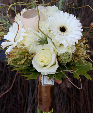 Twines of White Bouquet