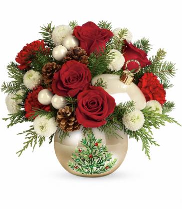 Twinkling Ornament Bouquet