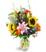 Twist of Country  Fall arrangement