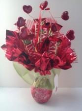 Twix Heart's Candy Bouquet