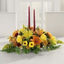 Two Candle  Centerpiece
