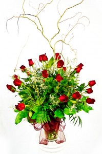 Two-Dozen Long Stemmed Roses Bouquet in Davis, CA | STRELITZIA FLOWER CO.