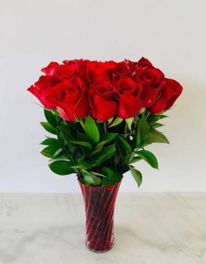 Two Dozen Red Roses   in Tamarac, FL | Yosvi Flowers